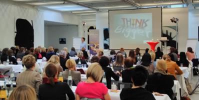 Vortrag Think Bigger beim Unternehmerinnenkongress in Dresden