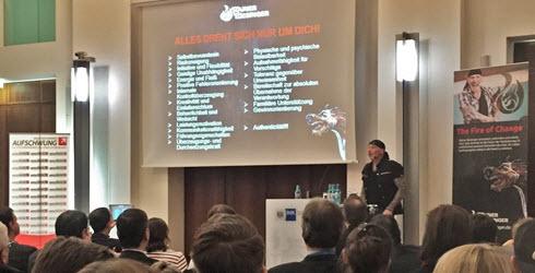 Key Note von Rainer Biesinger bei AUFSCHWUNG 2017