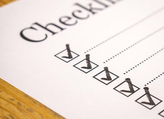 Checkliste für Prüfung einer Lieferantenrechnung/Check list to check EU invoices